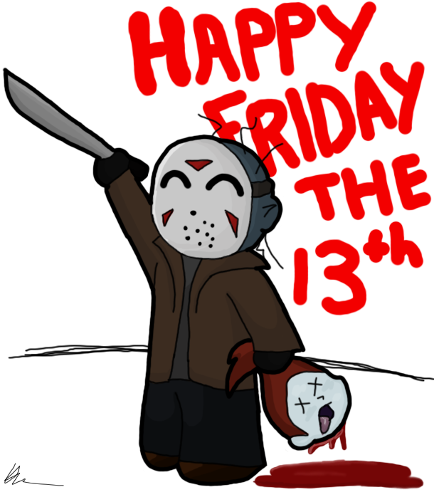 610x691 Happy Friday The 13th By ~asp3ll On Friday The 13th