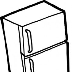 235x233 Fridge Clip Art Display Cliparts