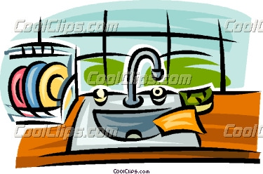 375x248 Clip Art Cleaning Kitchen Sink. Cleaning Swimming Pool Clip Art
