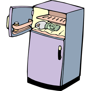 300x300 Fridge 01 Clipart, Cliparts Of Fridge 01 Free Download (Wmf, Eps