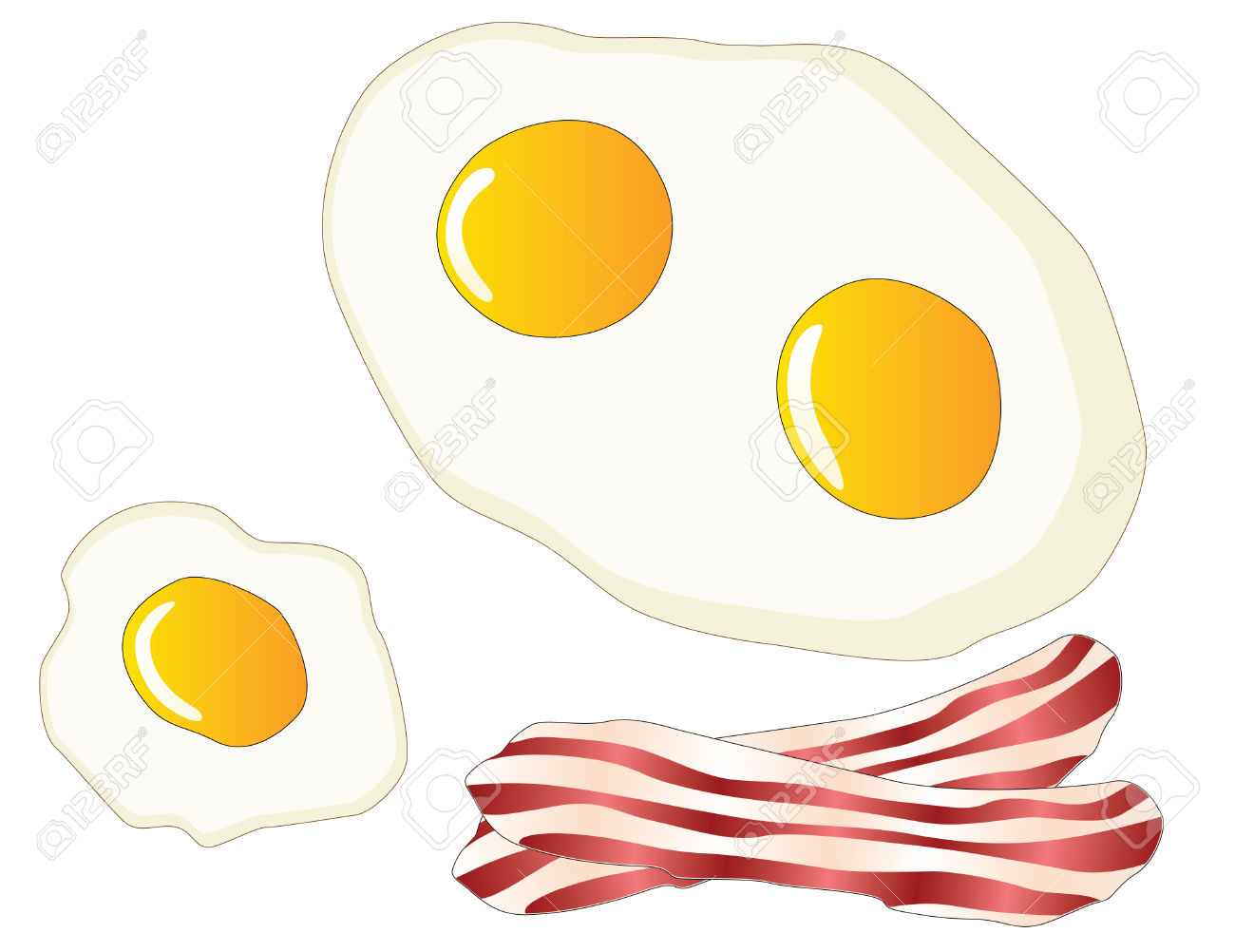 Fried Egg Clipart