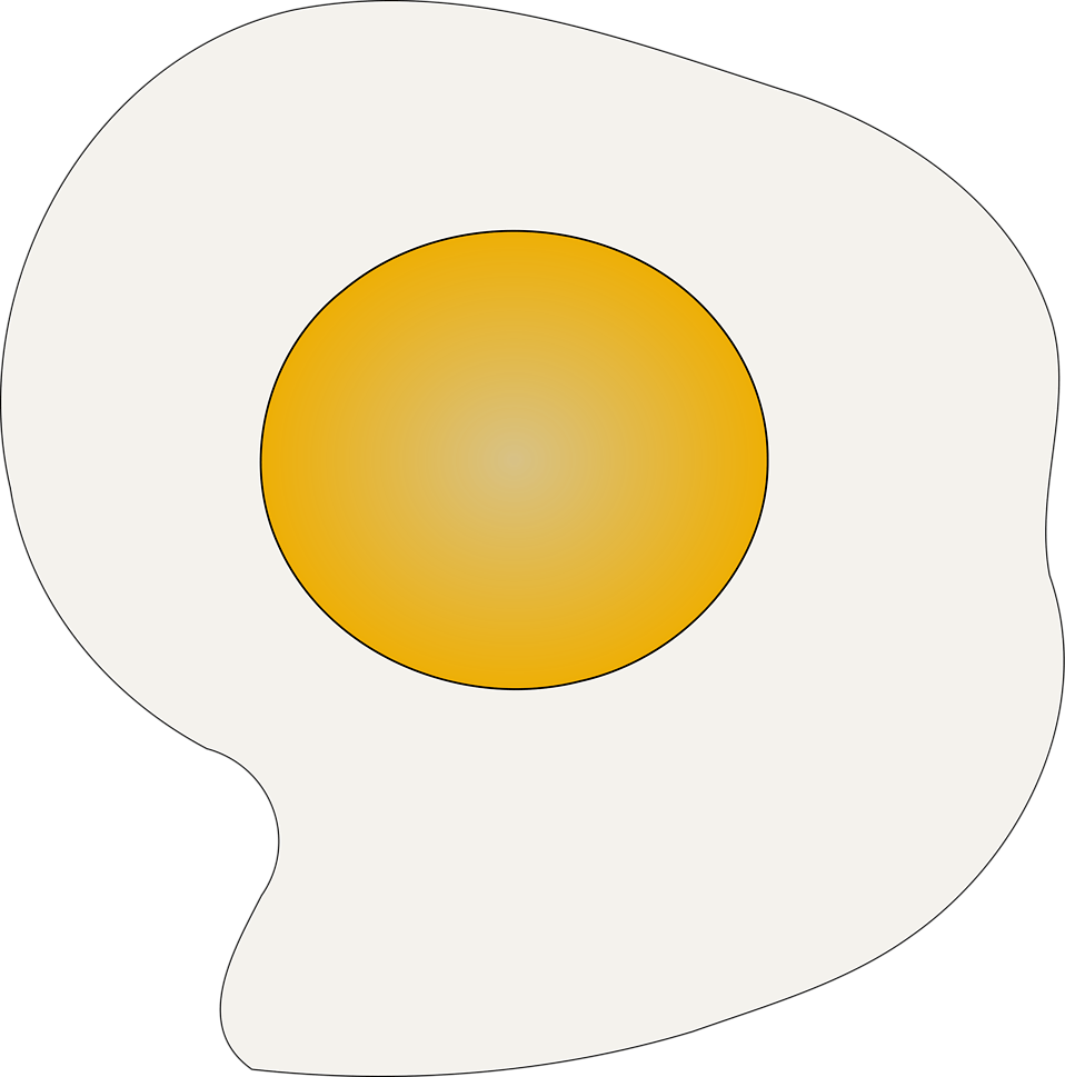 958x969 Fried Eggs Cliparts 212803
