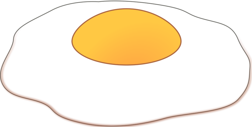 958x485 Egg Clipart Sunny Side Up