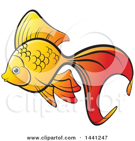 450x470 Goldfish Clipart Fried Fish