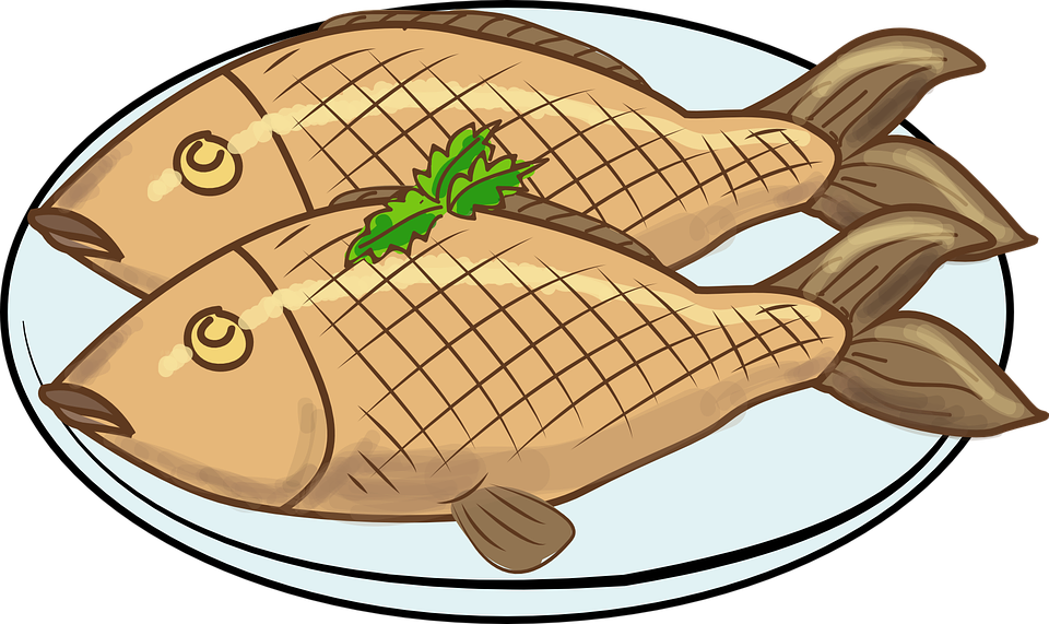 960x571 Meat Clipart Fried Fish