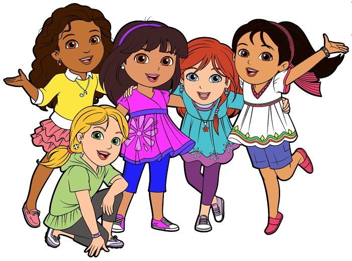 700x519 Dora And Friends Clipart