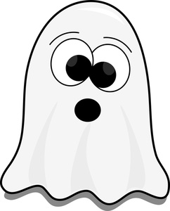 242x300 Ghost Clipart Image Cute Little Cartoon Ghost On Halloween Image