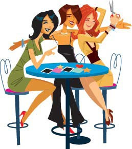 258x291 Download Image Girl Hanging Out With Friends Clip Art Pc, Android