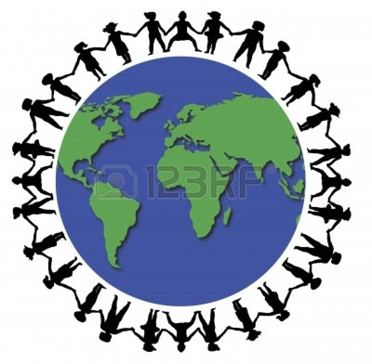 1200x1176 Friends Holding Hands Around The World Clipart Panda