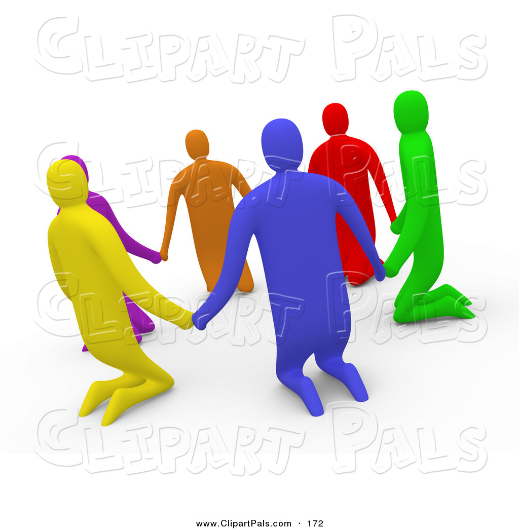 1024x1044 Pal Clipart Of 3d Diverse People Kneelingnd Holding Hands In