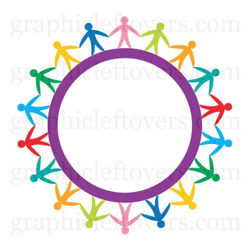 500x500 People Holding Hands Clipart