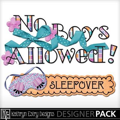 400x400 Clip Art Pajama Party Word Art (Kathryn) Everyday, Friends