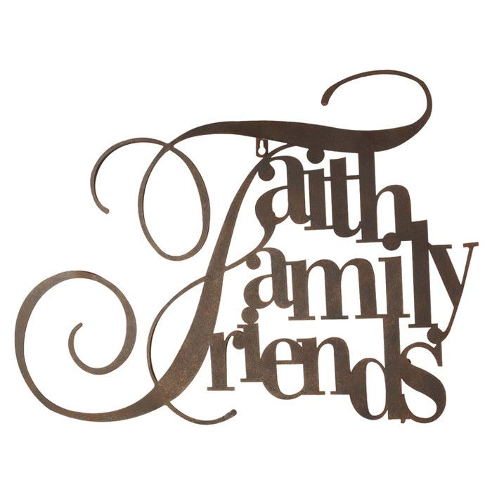 700x700 Graphics For Faith Family Word Art Graphics