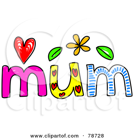 450x470 Mums The Word Clipart