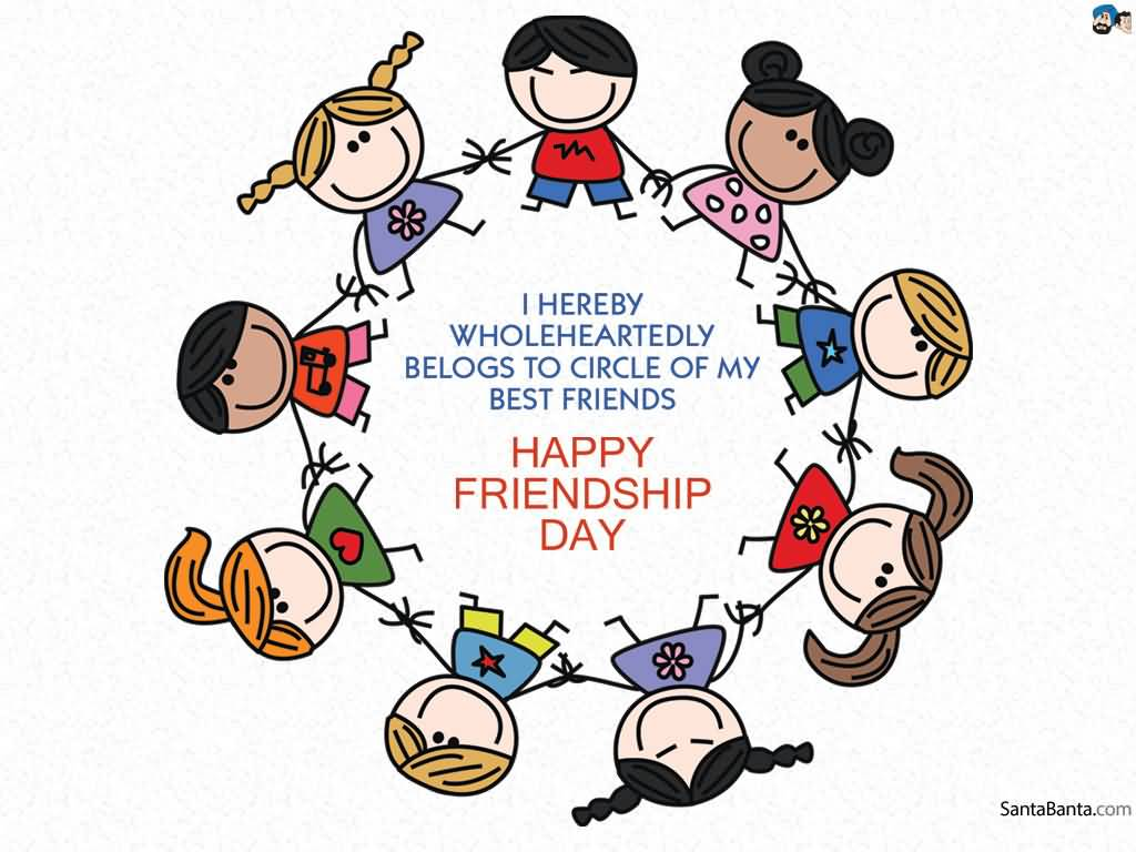 1024x768 70 Best Happy Friendship Day Greetings To Share With Friends