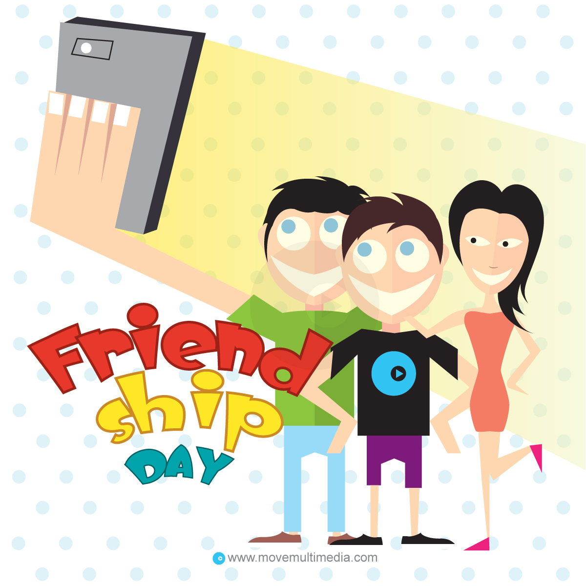 1200x1200 Happy Friendship Day Wishes Cards Free Vector Download