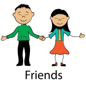 300x300 Friendship Free Clip Art Friends Clipart