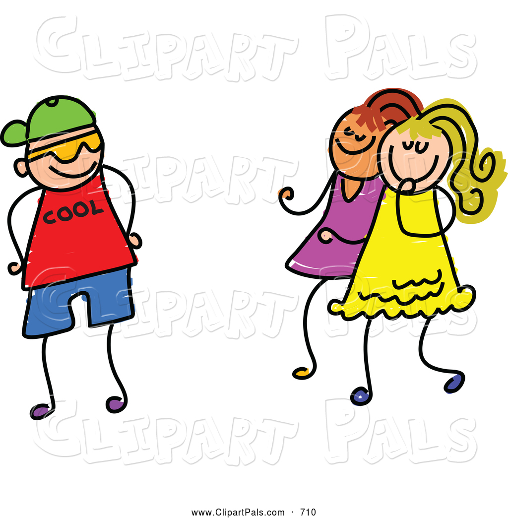 1024x1044 Girl And Boy Friendship Clipart