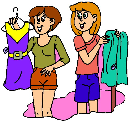 490x461 Shopping Clipart