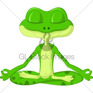 325x325 Cartoon Frog Gl Stock Images