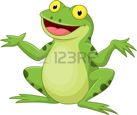 450x376 Cute Frog Cartoon Royalty Free Cliparts, Vectors, And Stock