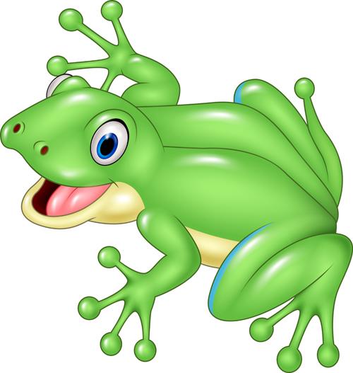 500x527 Cute Cartoon Frog Vector Iconer Frogs, Cartoon