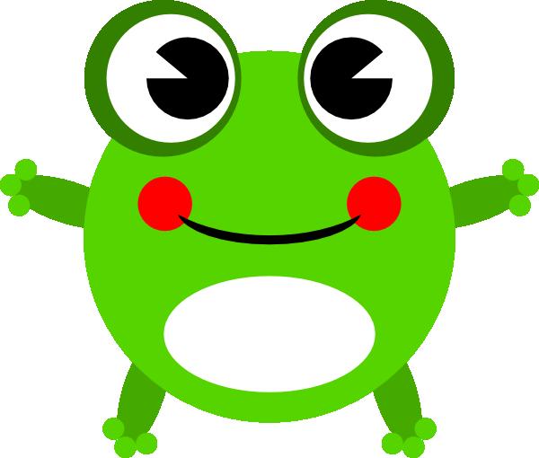 600x510 Frog 12 Clip Art