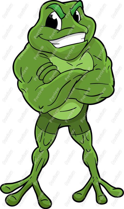 478x800 Frog Clip Art