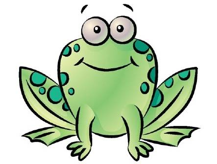 443x336 Animated Frog Clipart