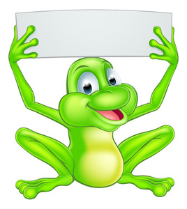 268x300 Illustration Of A Frog Cartoon Character Royalty Free Stock Image