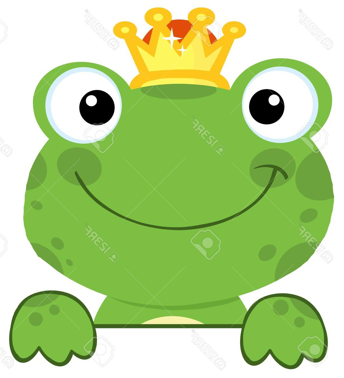 1182x1300 Best Cute Frog Prince Over Sign Board Stock Vector Cartoon Photos