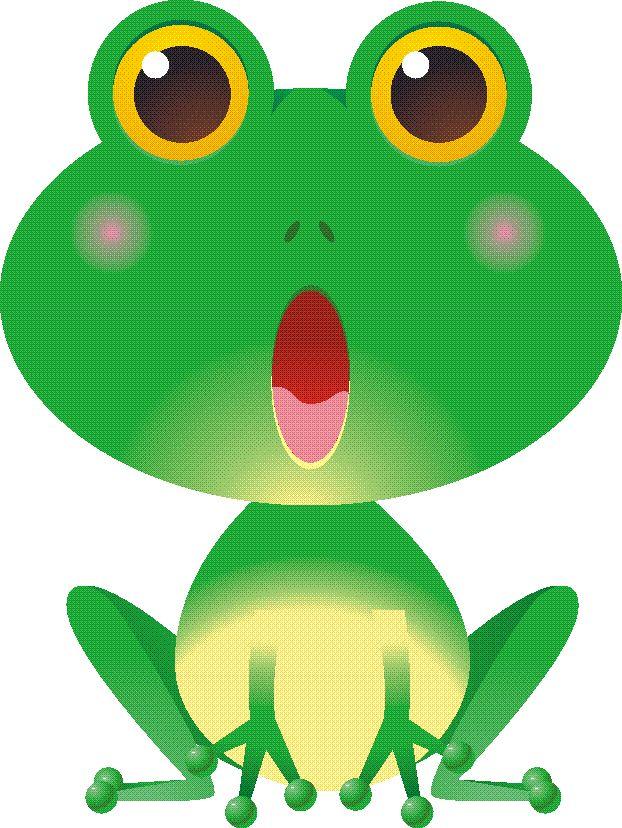622x828 Cartoon Frog Clipart