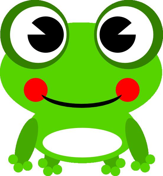 552x594 Frog 13 Clip Art