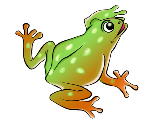500x435 Frog Clip Art Images Free Clipart