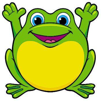 350x350 Frogs Clip Art