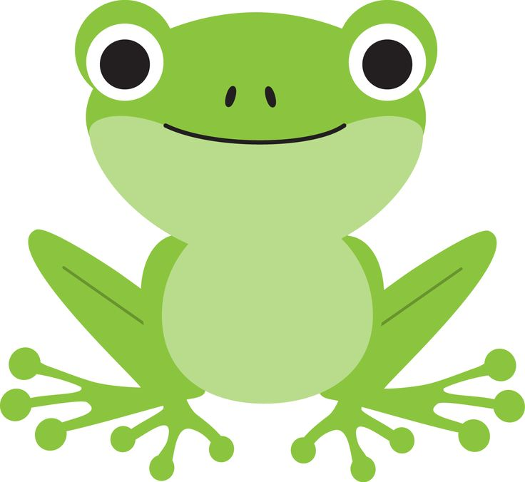 Frog simple. Cartoons clipart free download