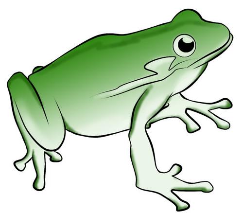 500x438 Frog clip art cartoon free clipart images 2