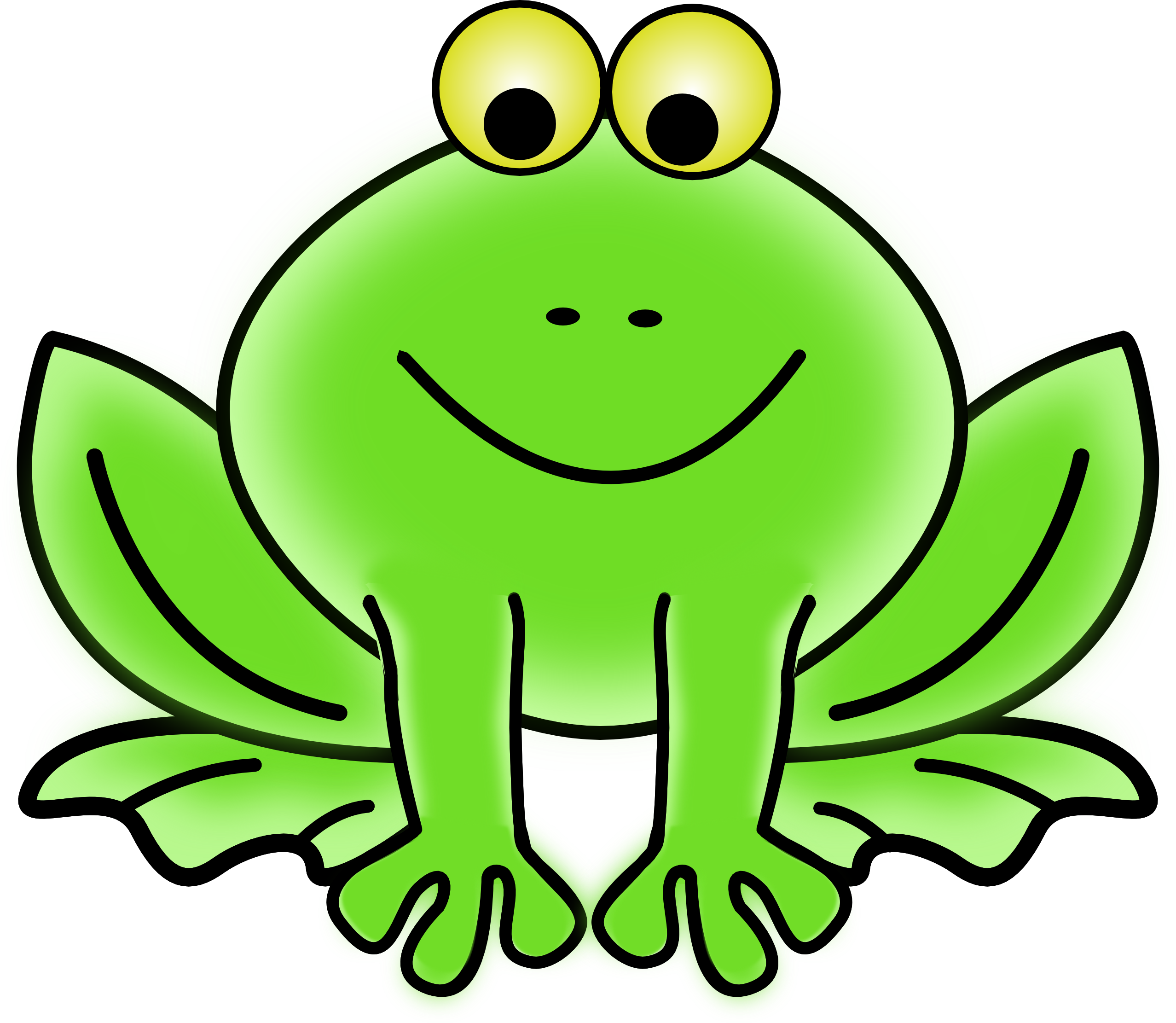 2555x2222 Frog Clip Art For Teachers Free Clipart Images