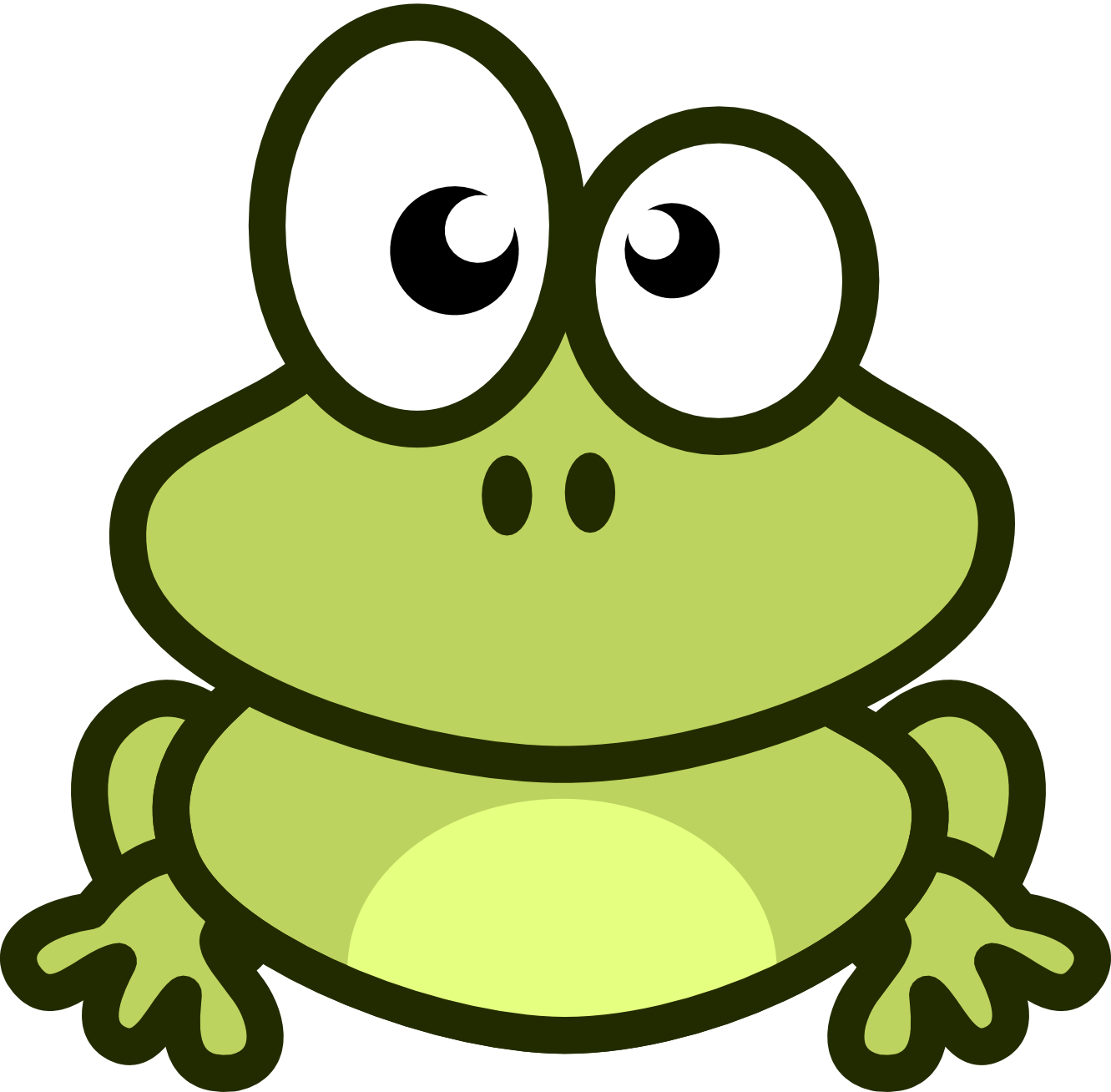 1331x1308 Frog clip art free clipart images