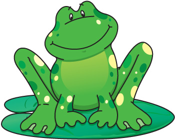 350x279 Free frog clip art pictures 2