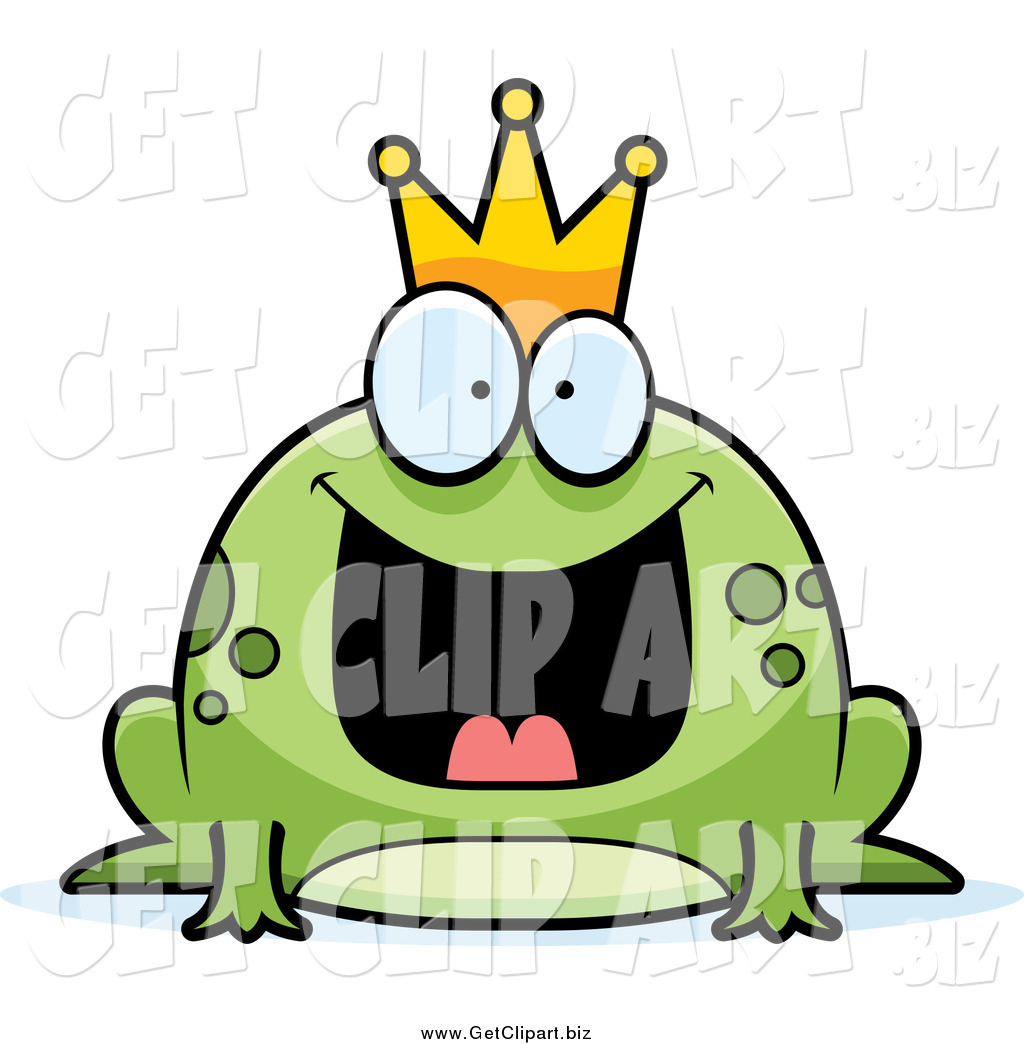 1024x1044 Clip Art Of A Fat Frog Prince With An Excited Expression By Cory