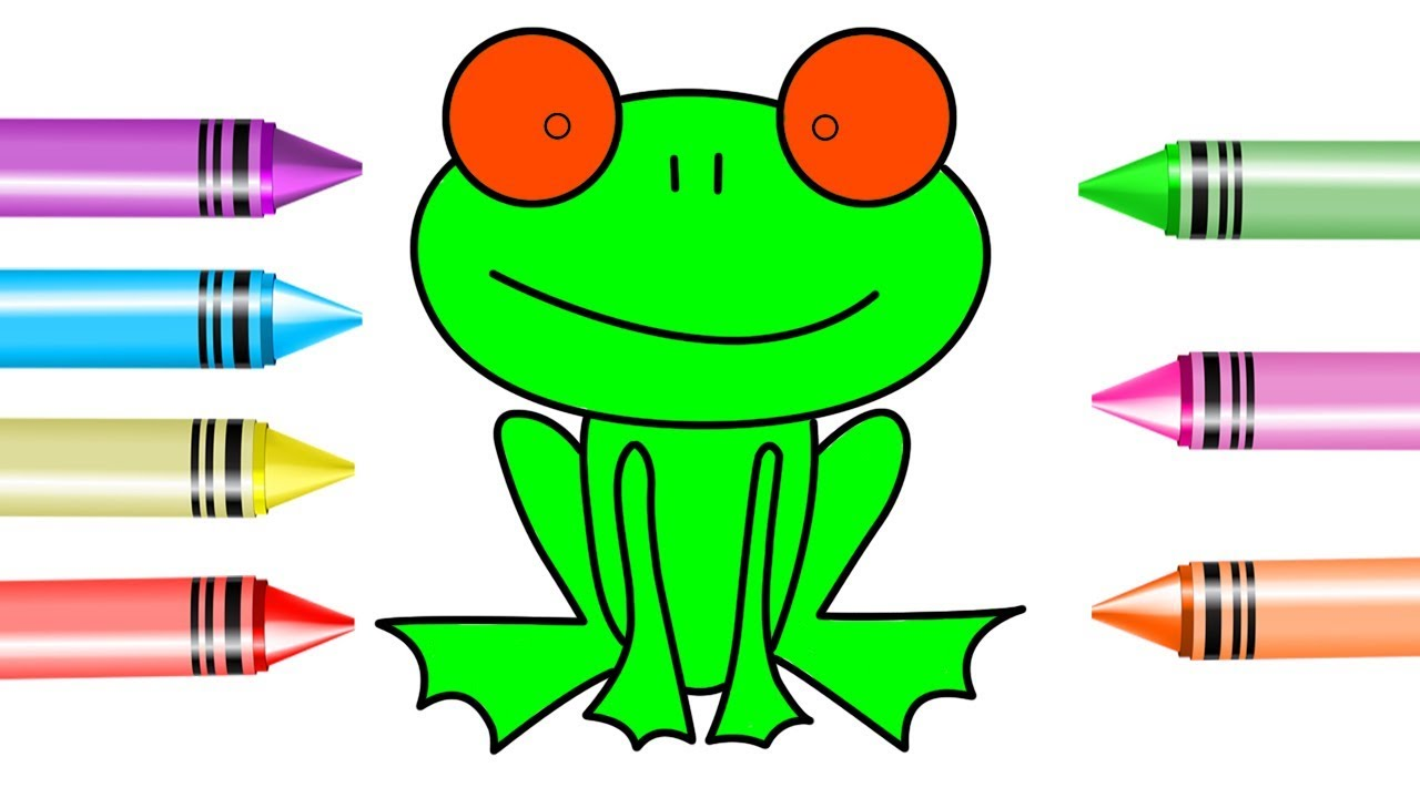 1280x720 How To Draw Kids Frog