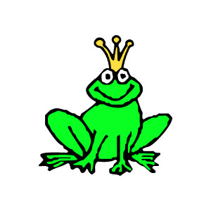 300x300 Free Clipart Of Frogs