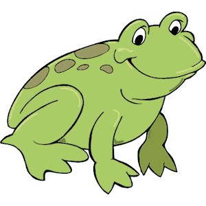 300x300 Free Frog Clipart 2 2
