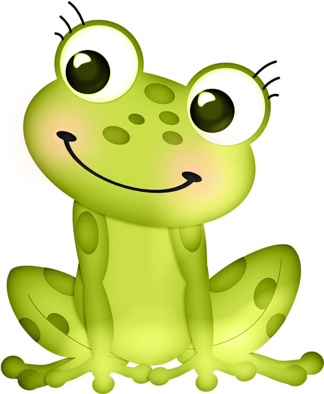 658x800 Amphibian Clipart Baby Frog