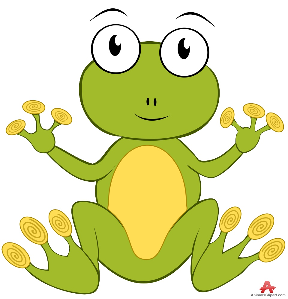 960x999 Cartoon Frog Character Design Free Clipart Design Download