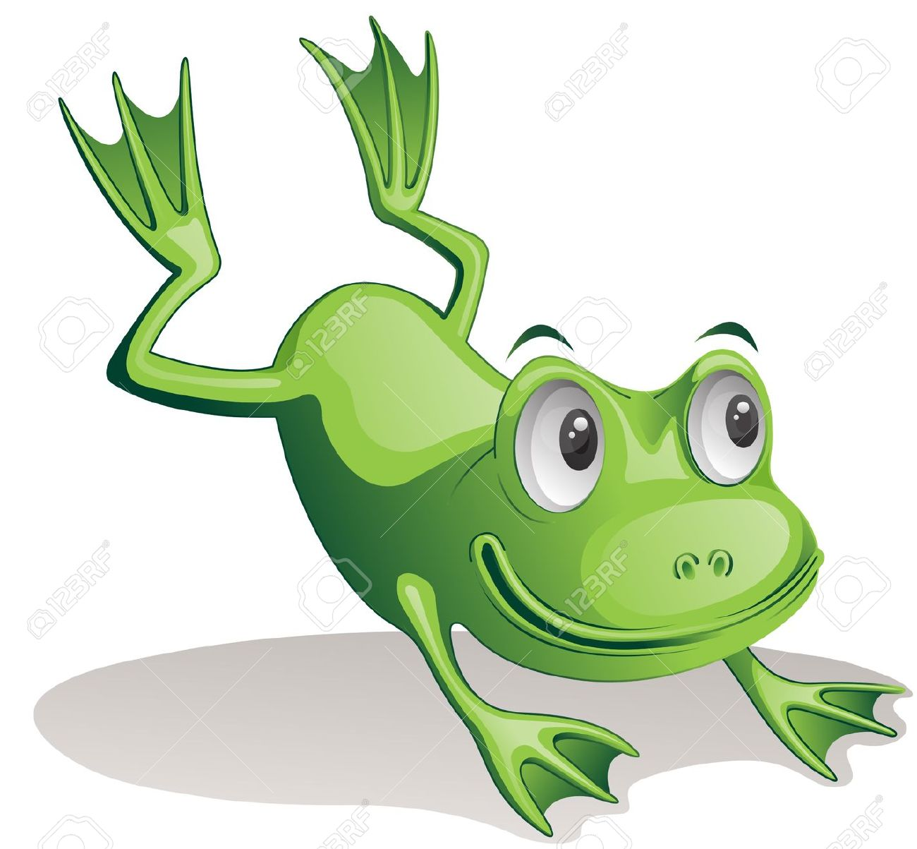 1300x1203 Jumping Frog Clipart Clipart Frog Clipart