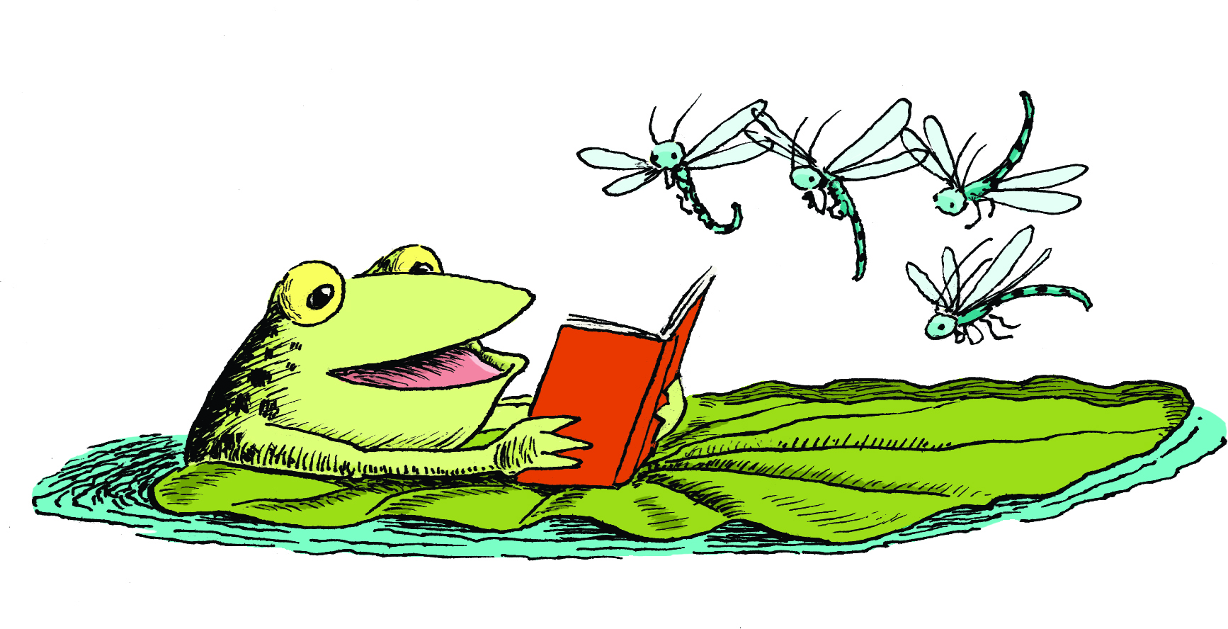 1734x888 Clip Art Frog On Lily Pad Clip Art