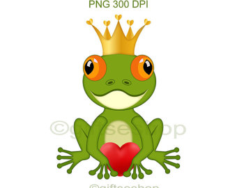 340x270 Frog Clipart Etsy