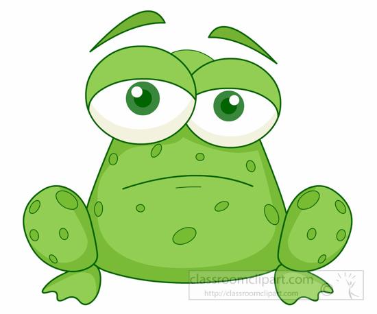 550x458 Pond Clipart Sad Frog